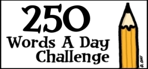 Link to 250-words-a-day-challenge page